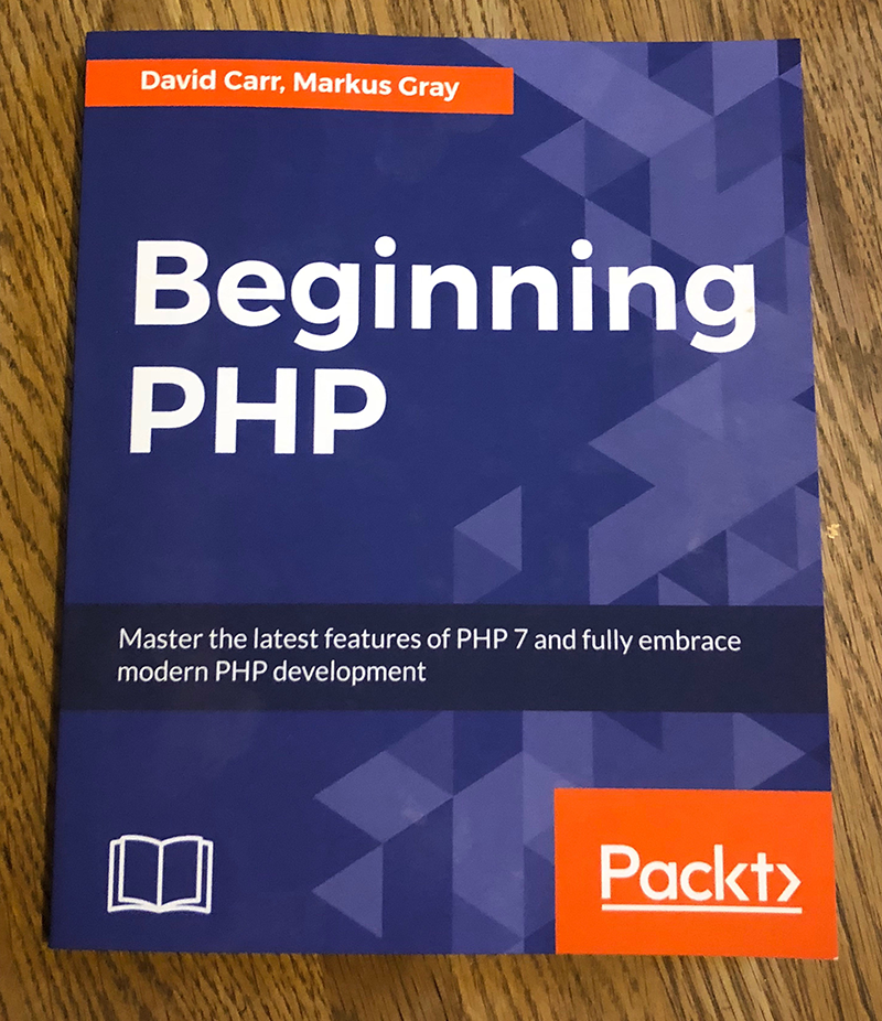 GIVEAWAY - WIN a copy of my book Beginning PHP