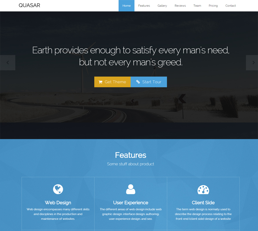 5 free beautiful bootstrap themes