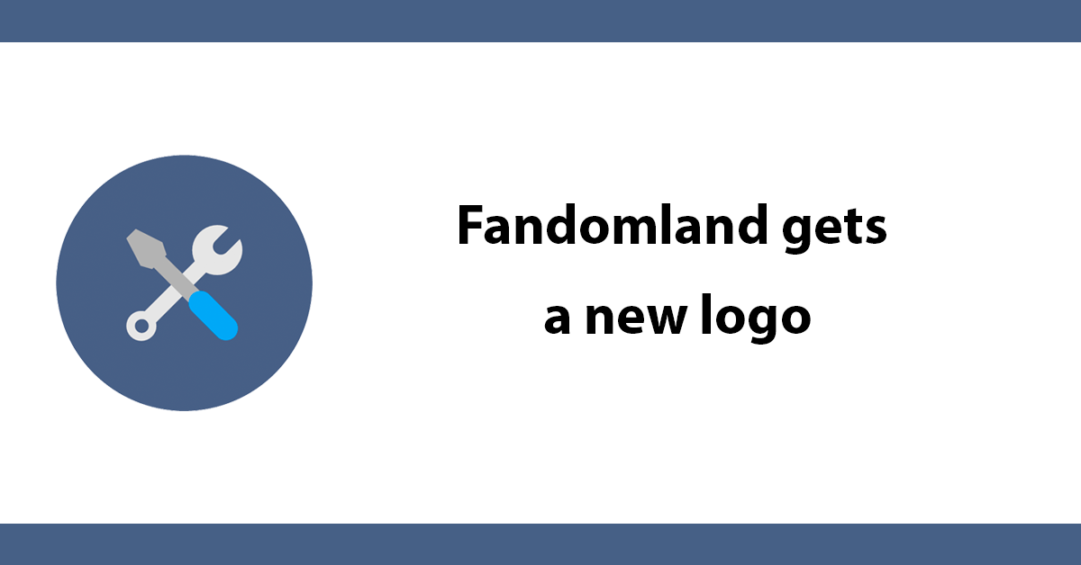 Fandomland gets a new logo