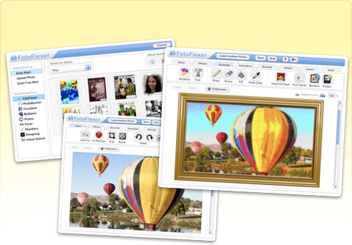 FotoFlexer resize images easily and quickly