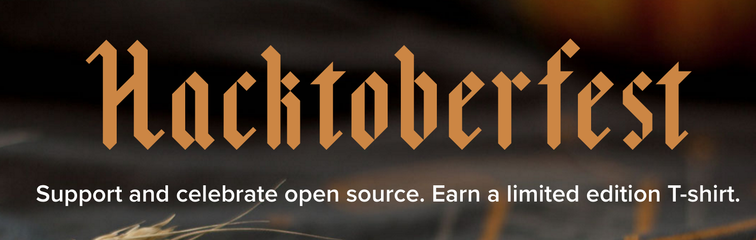 Get involved in open source with Github's Hacktoberfest