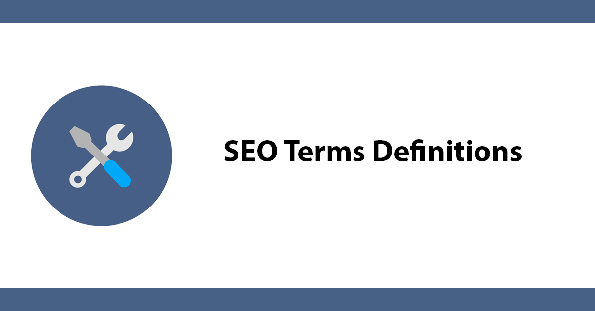SEO Terms Definitions