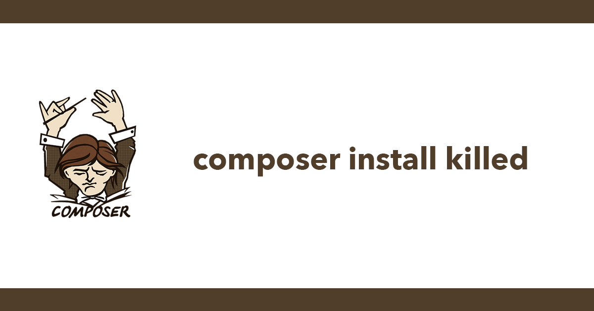 composer install killed