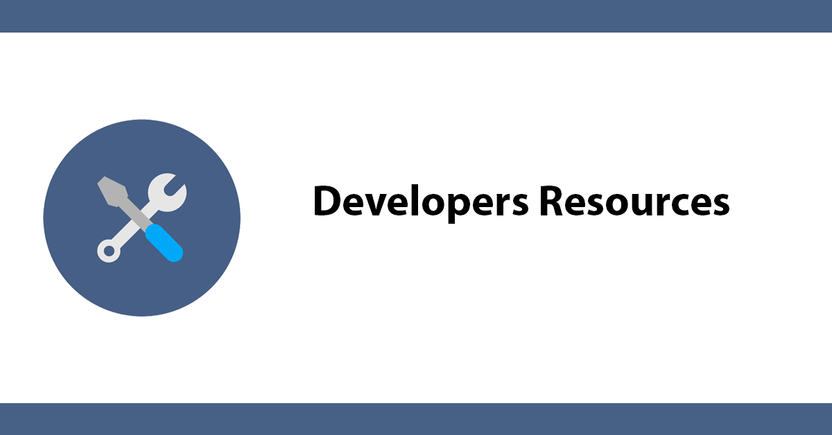 Developers Resources