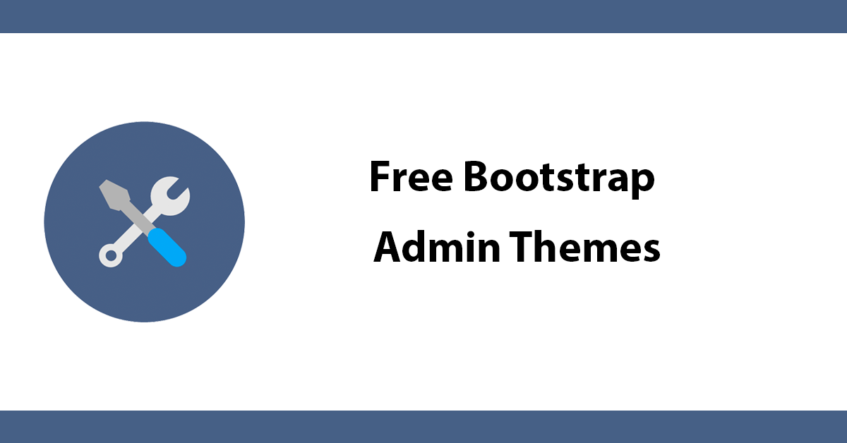 Free Bootstrap Admin Themes