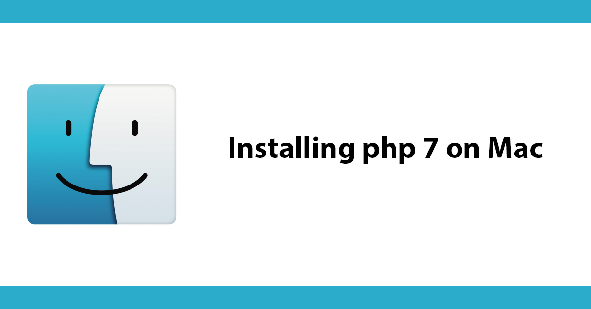 Installing php 7 on Mac