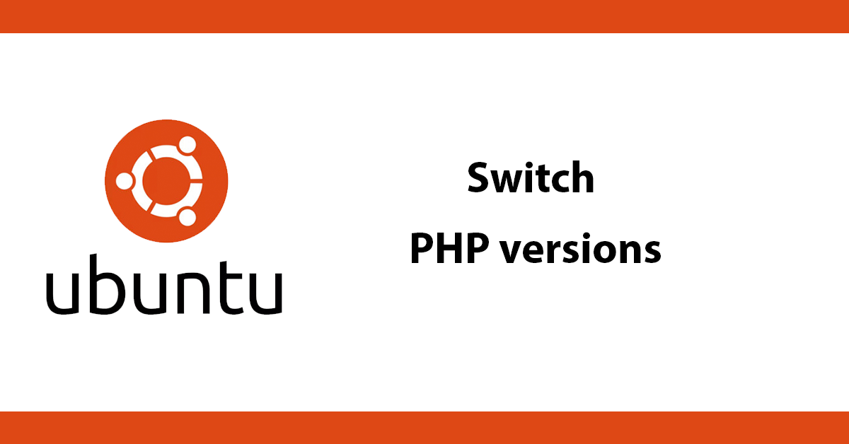 Ubuntu switching php versions